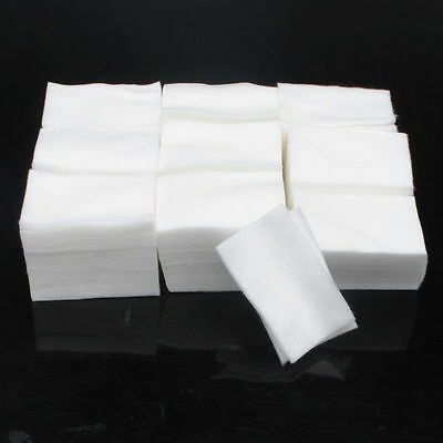 900 Nail Polish Gel Cotton Remover Wipe Pads Manicure Pedicure Acrylic Varnish