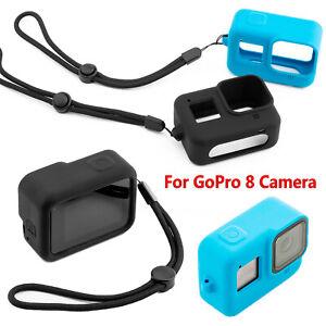 Para-GoPro-8-Camara-Funda-Protectora-Estuche-Carcasa-de-Silicona-Housing-Frame