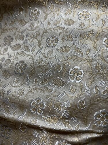 damascus// Brocade Fabric assorted colors  and yardage