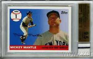 2006-Topps-Home-Run-1-Mickey-Mantle-YANKEES-WORN-JERSEY-BGS-9-5-GEM-MINT-GGUM
