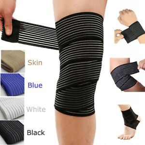 Elastic Bandage Elbow Wrist Ankle Knee Hand Support Wrap Protector
