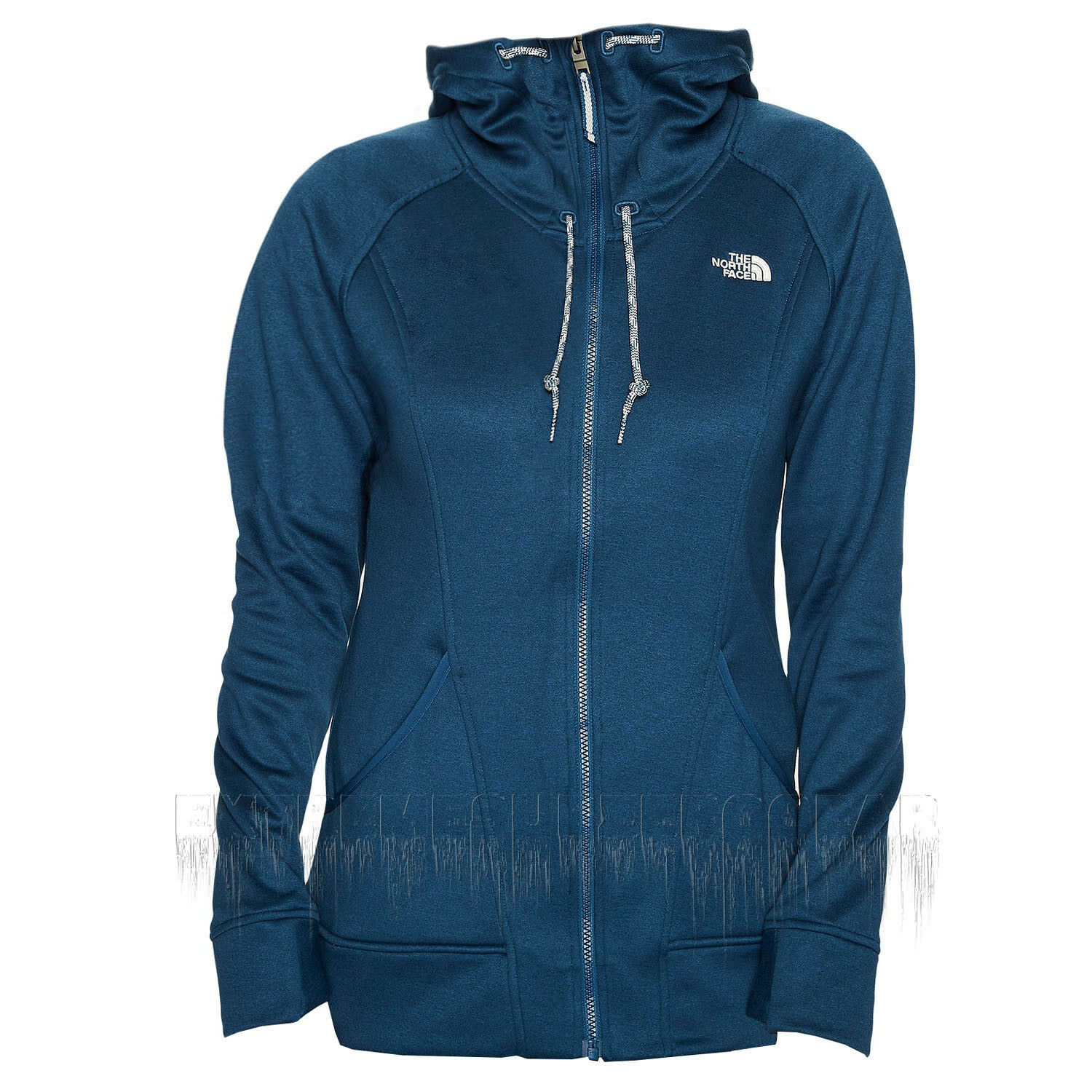 THE NORTH FACE Womens 2018 SHELLY FLEECE HOODIE Monterey bluee