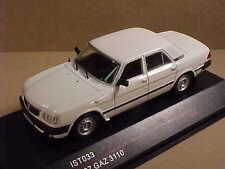 iST Model 1/43 Diecast iST 1997 GAZ 3110 4-Dr Sedan, White   #IST 033