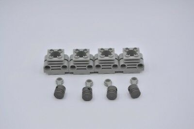 Lego Technik Pleulstangen hell grau 2852 und 4 Zylinder gelb 2851 Teile Motor