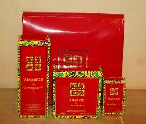 Givenchy AMARIGE Seife 100 g  Deo 100 ml EdT 4 ml OVP Geschenkbox Rarität Neu