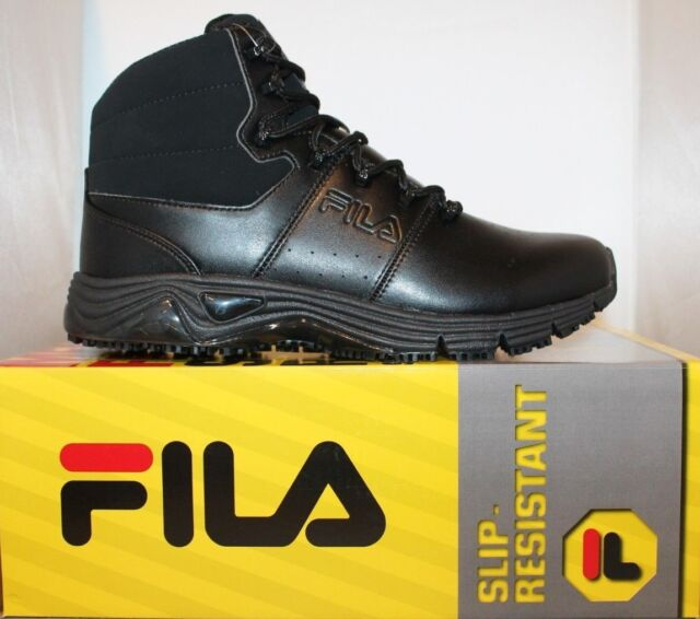 601db4444b7d FILA Mens Memory Breach SR Outdoor Boot Black black black 10 M US ...