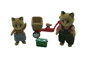 Calico-Critters-Sylvanian-Families-Renard-Fox-Dad-And-Brother
