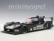 AUTOart 81577 NISSAN GT-R LM NISMO 2015 TEST CAR #23 1/18 MODEL CAR BLACK