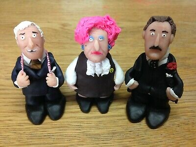 """Are You Being Served 2.5/"""" Humphries Peacock Slocombe Custom Figurines Figures"""