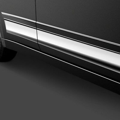 For Audi A6 1995-1997 SAA TH92625 F-Type Polished Rocker Panel Covers