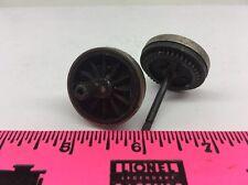 Lionel Parts ~ Center gear hub steel rim wheel with axle