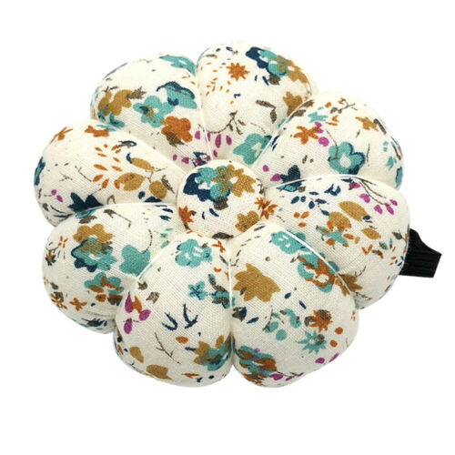 Pincushions Wearable Needle Pin Polka Orchid Bloom Sewing Quilting Pins Holder