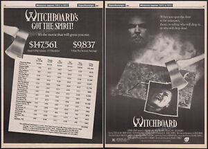 WITCHBOARD__Original 1987 Trade AD / box office promo / poster__TAWNY KITAEN