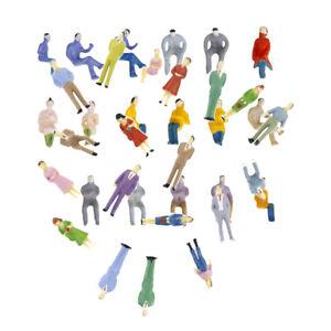 200x-Plastic-Tiny-People-Figure-Passenger-Toy-Train-LAYOUT-1-50-1-100-Gauge