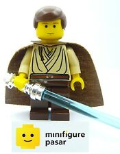 sw069 Lego Star Wars 7203 - Obi-Wan Kenobi Young Minifugre w Chrome Lightsaber