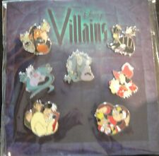Disney Villains Booster Set - New on Themed Card - Pin # 78566