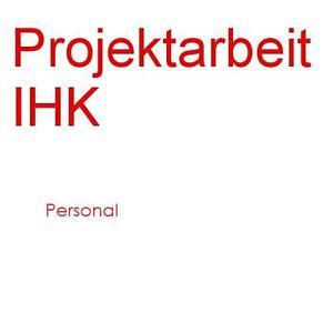 Projektarbeit personal akademika