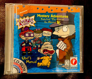 CD Rom Rugrats Mystery Adventures The Case of the Missing ...