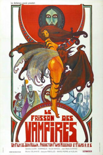 73170 Shiver Of Vampires Movie 1971 Horror Decor Wall Print POSTER
