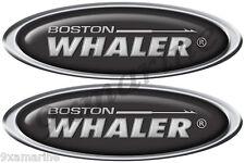 "Boston Whaler Classic Oval Decal Set. 10"" X 3.5"" each - laminated"
