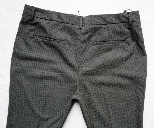 BNWT NEXT  tailored grey bootcut leg office smart work trousers stretch R//L//XL