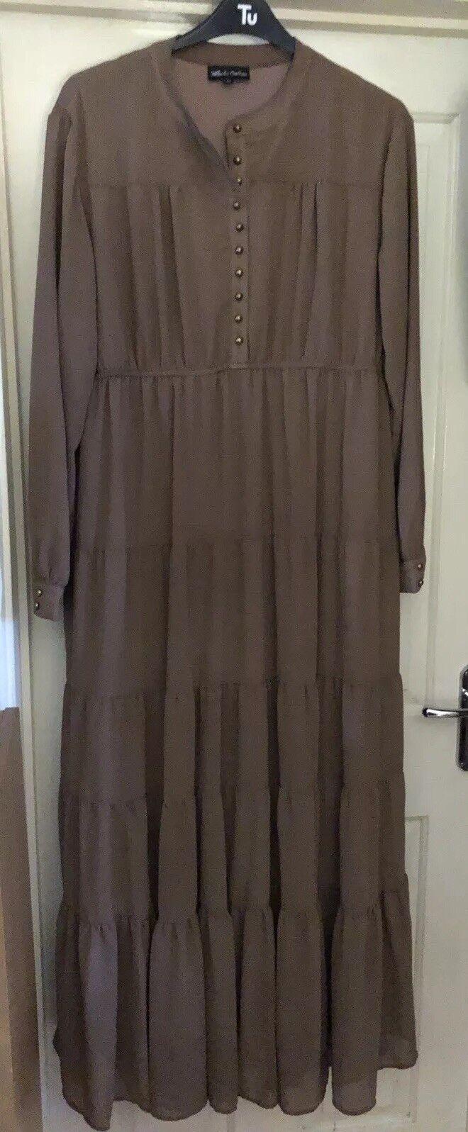 Jibabs Online Brown Abaya  Dress, Size 18-20 - Stunning