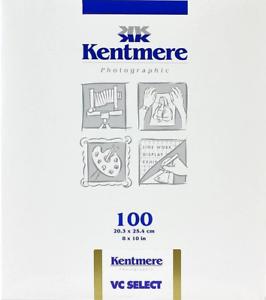Kentmere-VC-Select-Glossy-8x10-034-B-amp-W-Darkroom-Paper-100-Sheets