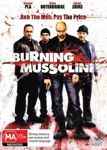 1 of 1 - Burning Mussolini DVD - New/Sealed Region 4 DVD