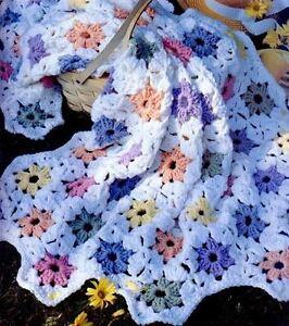Crochet-Pattern-Baby-Blanket-Vintage-Flower-Patch