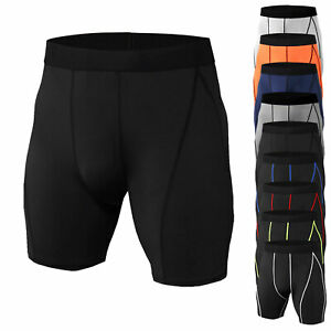 Men-039-s-Compression-Shorts-Cool-Dry-Workout-Running-Basketball-Gym-Active-Bottoms