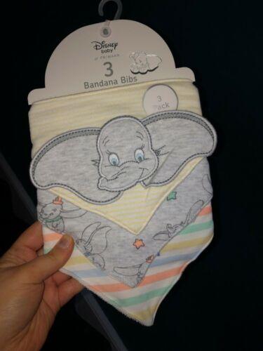 Totalmente Nuevo Disney Dumbo ropa de bebé Primark Mameluco Baberos Outfit