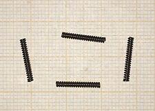 4 x Druckfeder, Länge 12,4mm, Außen Ø1,7mm, Drahtstärke 0,4mm, mini Druckfeder
