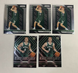3-2018-19-Panini-Prizm-Donte-DiVincenzo-RC-246-2-Emergent-Lot-of-5
