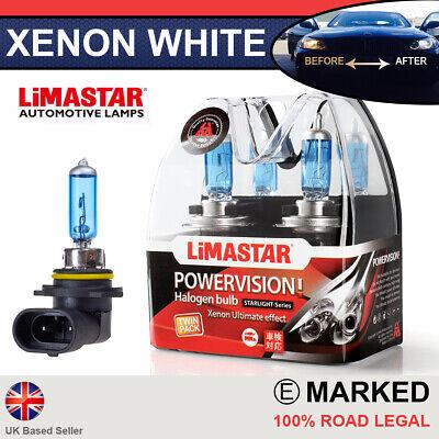 9005 PAIR Xenon White HB3 60w Halogen Fog Light Headlight Bulbs 6000k