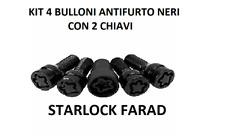 Kit 4 Bulloni antifurto FARAD STIL BULL cerchi in lega Mercedes CLS 2004-2010