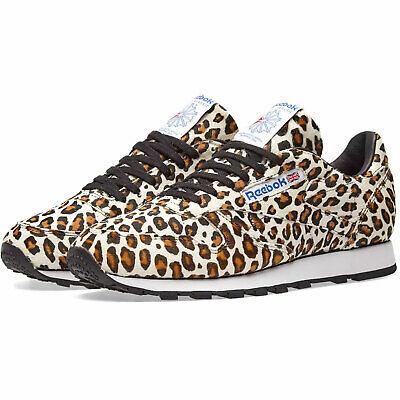 Reebok X Kopf Porter Klassisch Damen Sneaker Leopardenmuster Limitierte Auflage | eBay