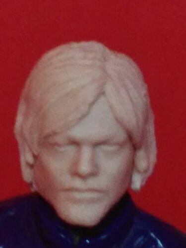 The walking dead Daryl Dixon 1//18 Scale 3.75 cast head for use with gi joe MH002