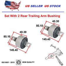Rear Trailing Arm Bushings For Honda Civic 88 00 Cr V 97 01 Crx 88 91 Oe Quality Fits 1991 Honda Civic