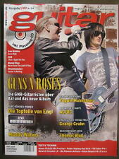 GUITAR MAGAZINE 2009/1 NR. 104 - GUNS N' ROSES IRON MAIDEN STEAMHAMMER INCL. CD
