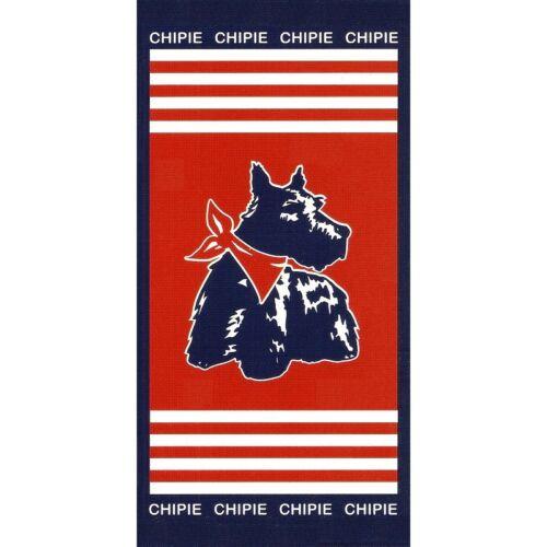 """Serviette de plage Drap de bain Chipie /""""Grand large/"""" beach towel coton"""