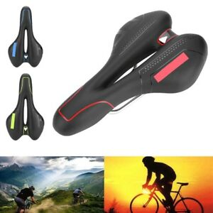 Ultra-light MTB Road Bike Bicycle Hollow Soft Saddle Seat Pad Cushion Vintage