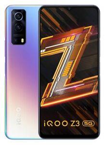 "IQOO Z3 5 g (RAM 8 Go, 128 Go) 6.58"" 64MP-Caméra Dual SIM googleplayphone"