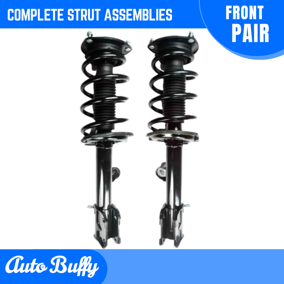 Front and Rear Suspension Strut and Shock Absorber Assembly Kit 4 Piece Set Compatible with 2011-2013 Kia Sorento