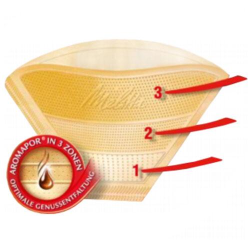 pacco da 640 MELITTA GOURMET ORIGINALE 1 x 4 Caffè Filtri AROMAPOR PLUS tipo