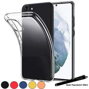 Coque de protection silicone souple pour Samsung Galaxy S21