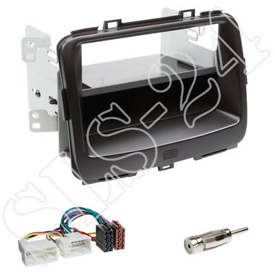 Fiat Ducato doble 2 din radio diafragma instalación marco coche Adaptador Conector set