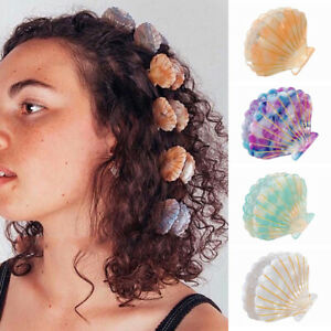 Women-Shell-Shape-Hair-Claws-Beach-Hairpins-Barrette-Beauty-Hair-Crab-Hairgrips