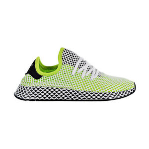 4236b541f2ac6 Details about Adidas Originals Deerupt Runner Men s Shoes Solar Slime Core  Black Black B27779