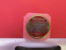 Oven Controlled Crystal Oscillator Bliley 5000 Kc 63vac 60 Deg C Tco 1 Fast Shp