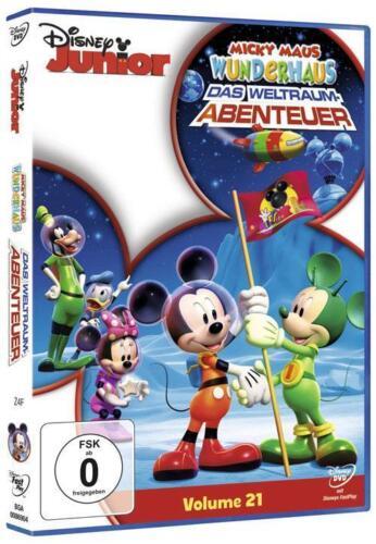1 von 1 - Micky Maus Wunderhaus - Vol. 21 - Das Weltraum-Abenteuer (2011) DVD